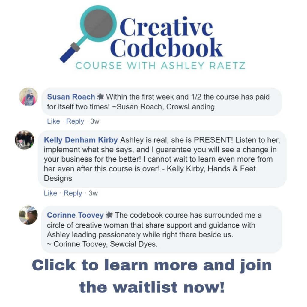 testimonials of creative codebook course