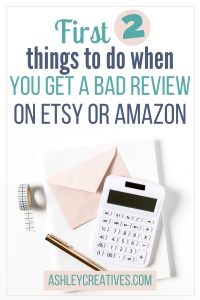 The First 2 Things to Do After a Bad Review