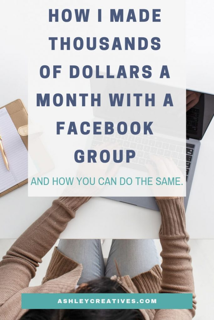 Make Money Using a Facebook Group