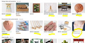 Free shipping listings getting higher placement on Etsy Search.