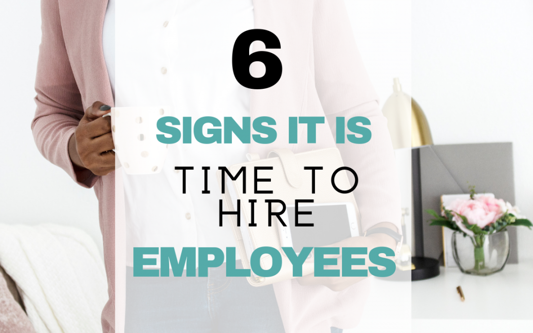 How Do You Know When to Hire an Employee for Your Small Business?